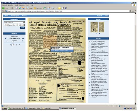 newspaper index example