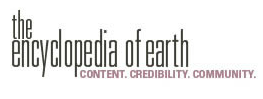Graphic of the encyclopedia of earth logo