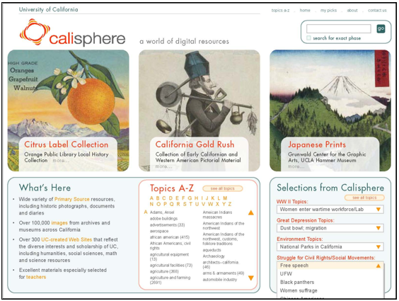 calisphere