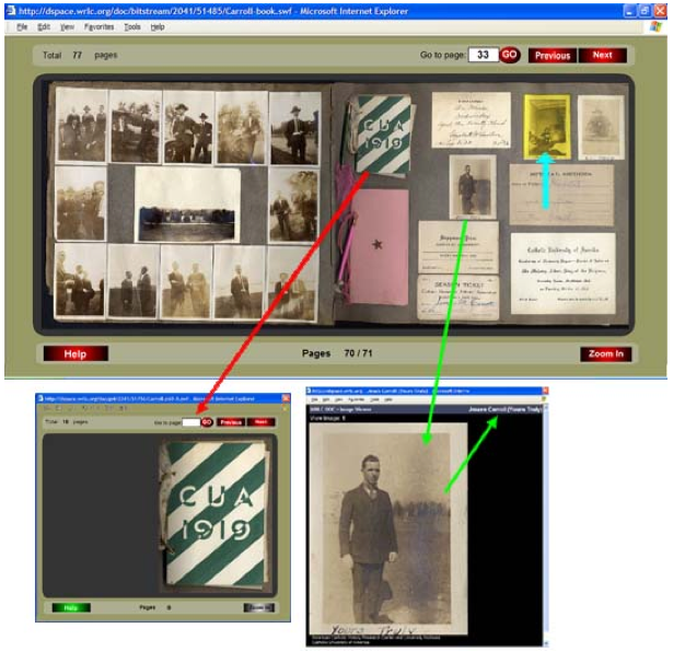 Creating Online Historical Scrapbooks With A User Friendly Interface